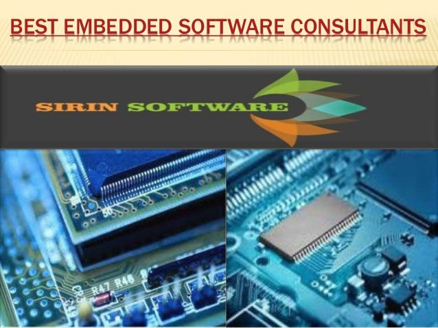 BEST EMBEDDED SOFTWARE CONSULTANTS