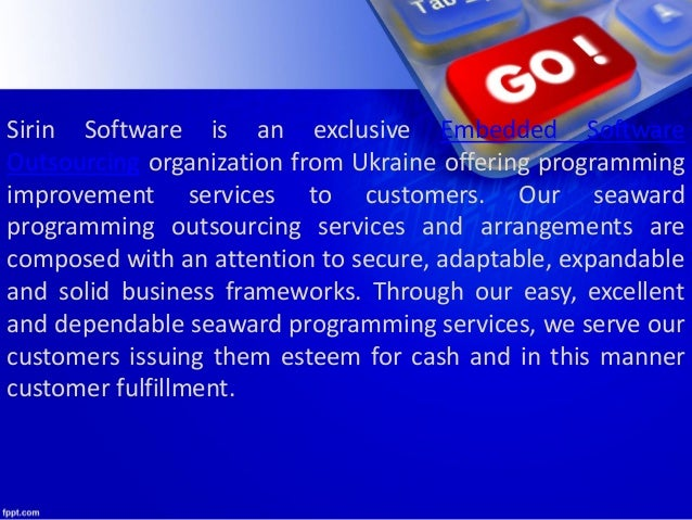 Best embedded software outsourcing Slide 2