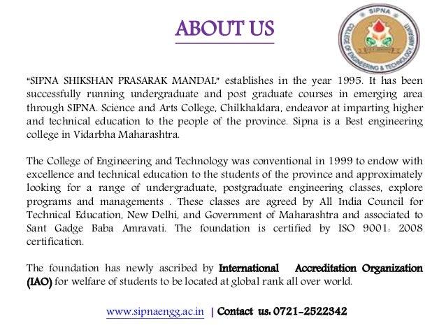 Best engineering college in Vidarbha Maharashtra Slide 3