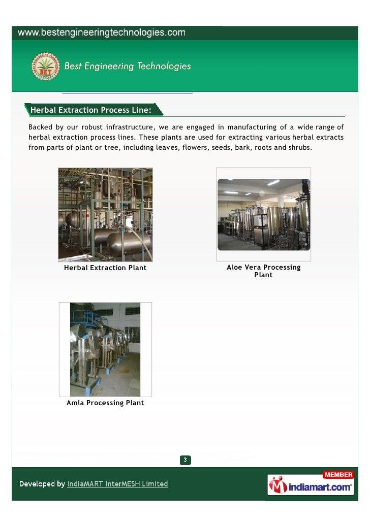 Best Engineering Technologies, Hyderabad, Herbal, Aromatic, Bio-diesel Slide 3