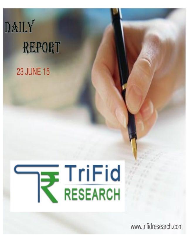 23 JUNE 15 www.trifidresearch.com
