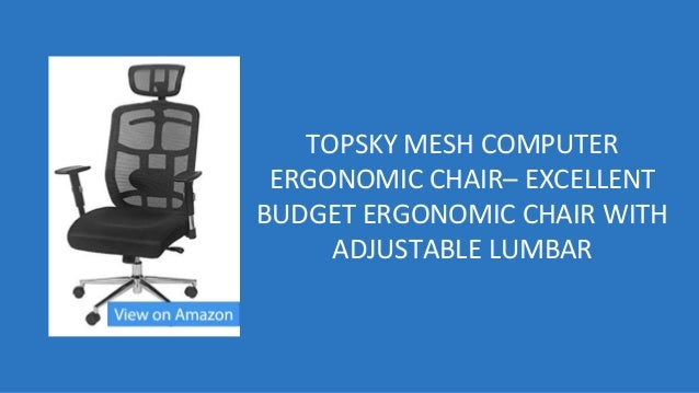 best ergonomic office chairs under 200