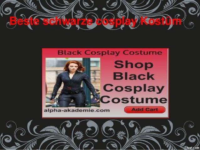 Beste schwarze cosplay Kostüm