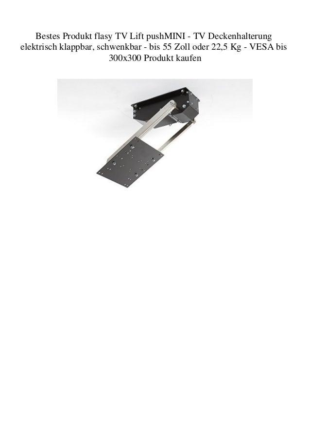 Bestes Produkt Flasy Tv Lift Pushmini Tv Deckenhalterung Elektrisch