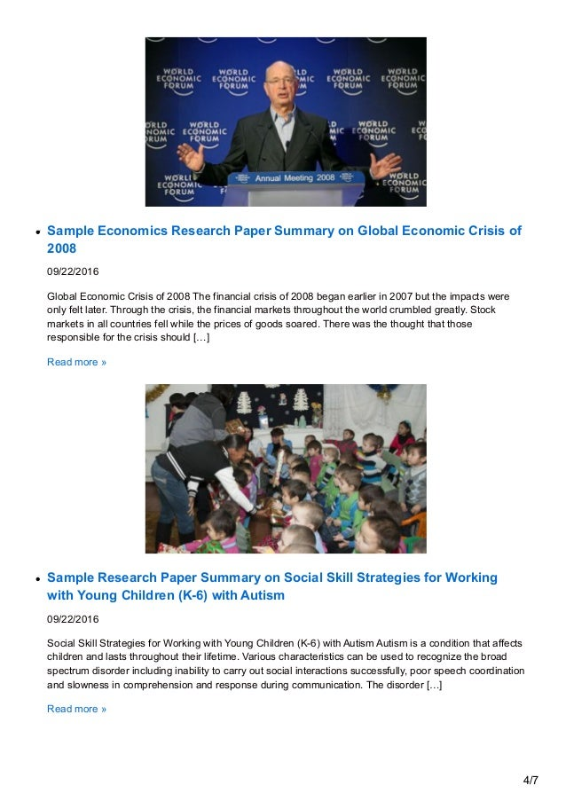 global crisis economics essay What is really a global economic crisis means based on my own understanding, global economic crisis is the situation where more than one country is affected by scarcity of resources to be needed enable to provide for all citizens globally.