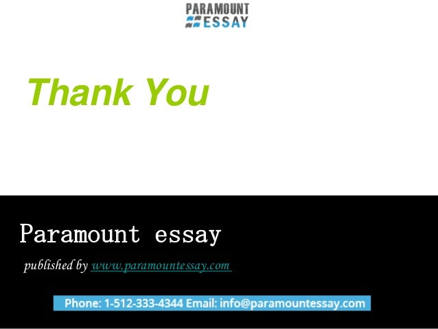 paramount essay best essay writing