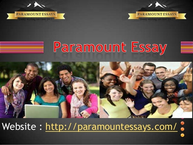 paramount essays reviews If you have been asked to choose a paramount essay topic while sticking to certain parameters, you must keep aside some time for the task because there are.