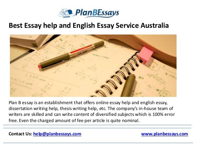 Essay help writing best