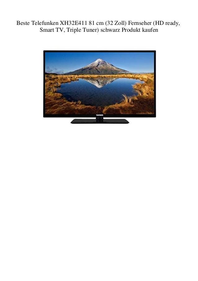 Beste Telefunken Xh32e411 81 Cm 32 Zoll Fernseher Hd Ready Smart