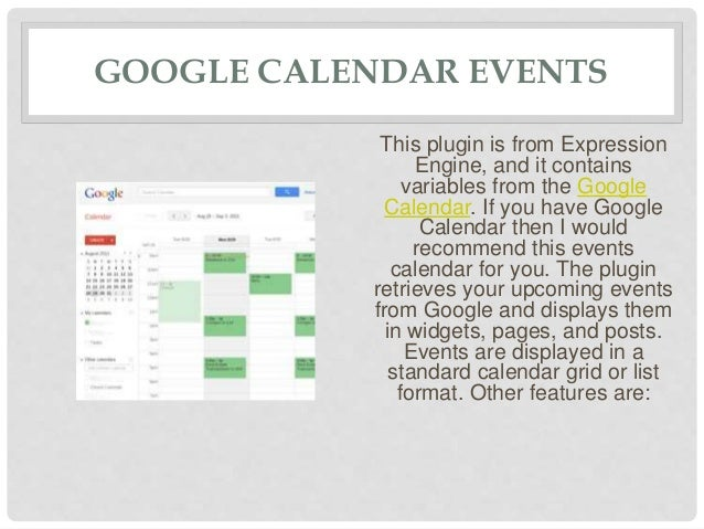 Best Event Calendar Word Press Plugins