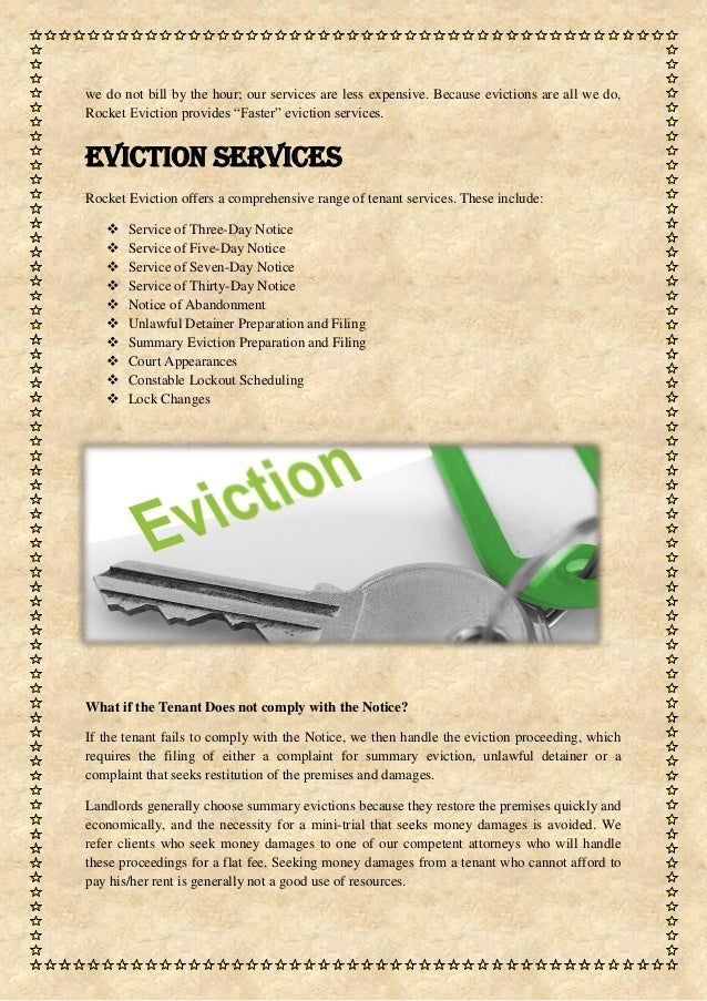 Best Eviction Service In Las Vegas By Rocket Eviction