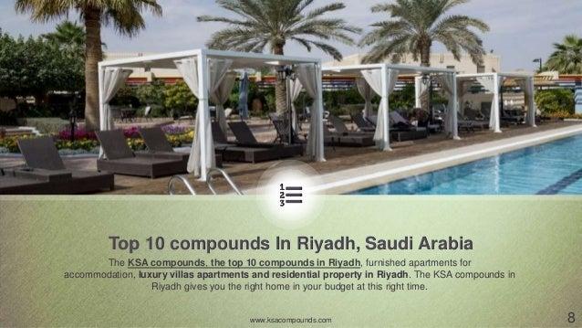 Best expat compounds in riyadh saudi