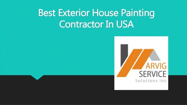 Best exterior house painting contractor in usa - Exterior house painting contractors ...