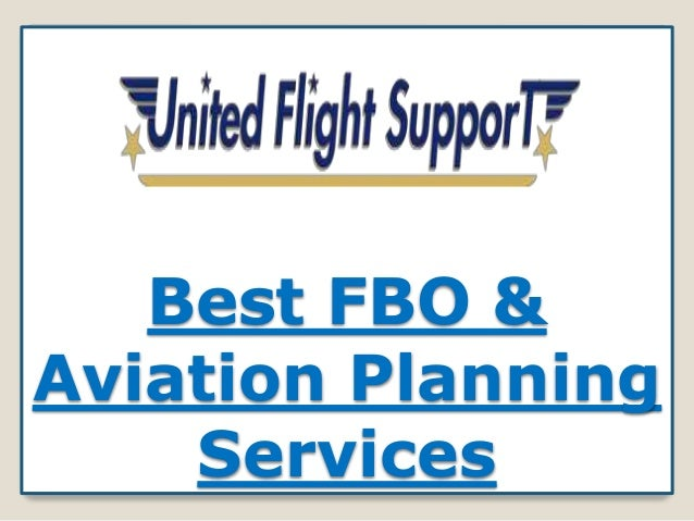 Best FBO & Aviation Planning Services