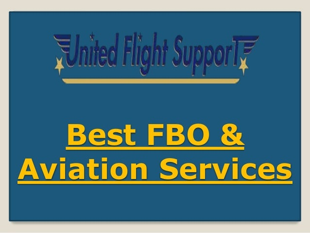 Best FBO & Aviation Services