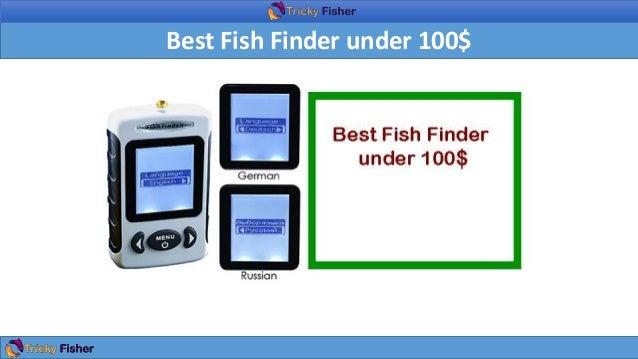 Best Fish Finder Under 100