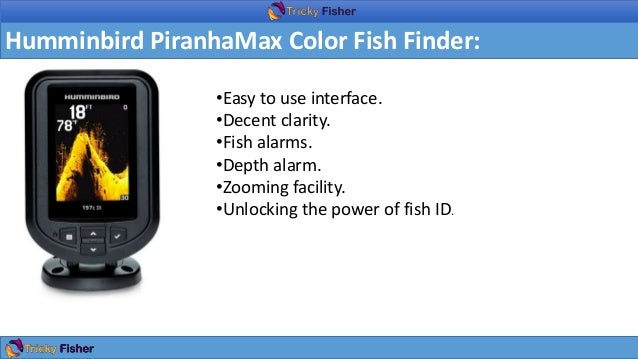 Easy to use fish finder for Best fish finder 2017
