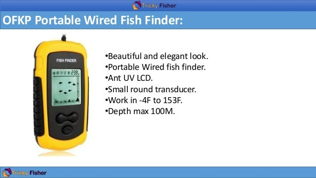 Best fish finder under 100 in this 2017 for What is the best fish finder