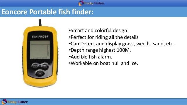 Fish finder under 100 for Best fish finder under 300