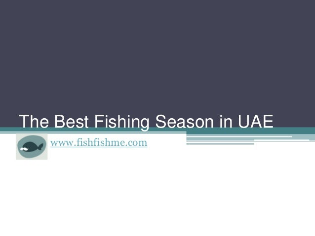 The Best Fishing Season in UAE www.fishfishme.com