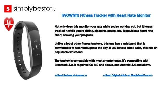 fitness tracker chart
