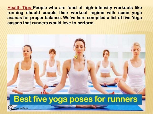 Health Tips People Who Are Fond Of High Intensity Workouts Like Running Should Couple Their