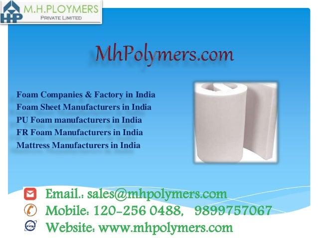 Best foam sheet manufacturers in delhi, india