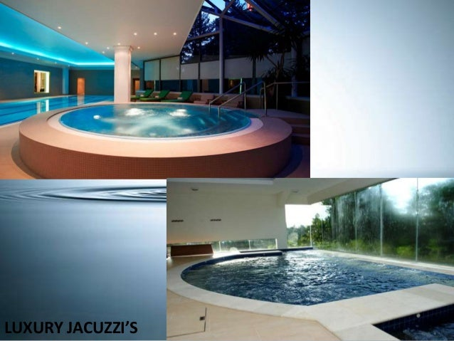 JACUZZI POOL WITH SPOUTS U0026 FIRE BOWLS ...