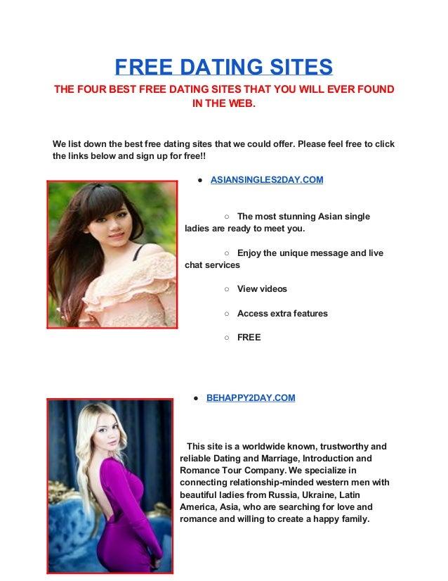 Most trustworthy dating sites