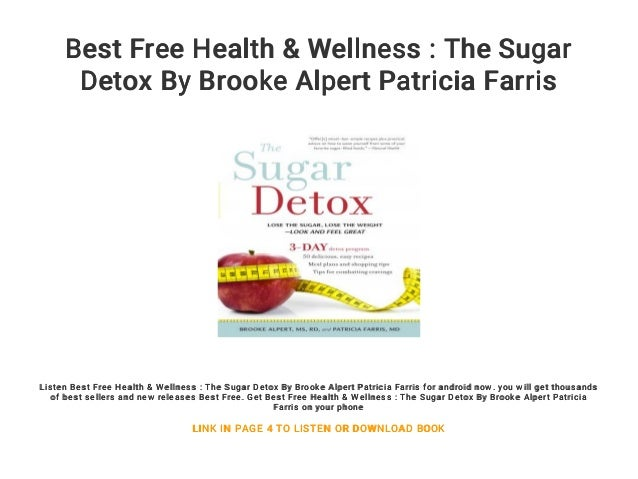 sugar detox diet brooke alpert patricia farris