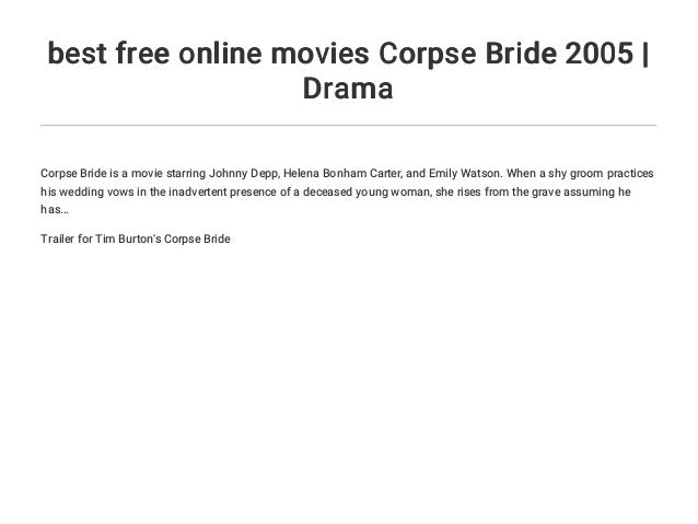 Corpse Bride Wedding Vows Real