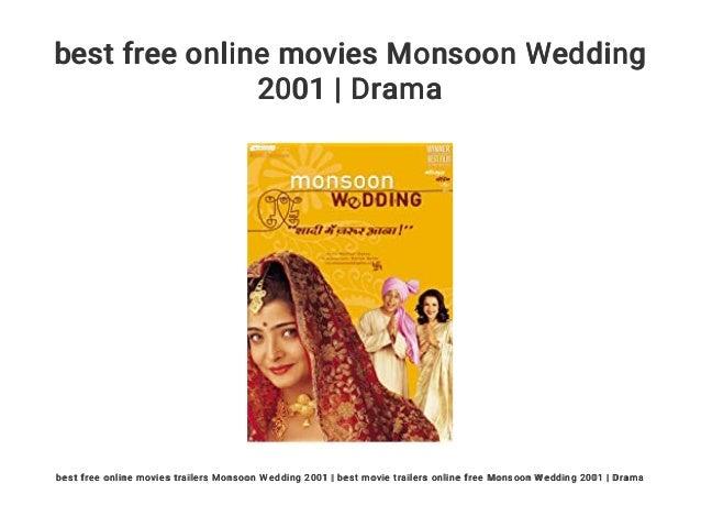 Best Free Online Movies Monsoon Wedding 2001 Drama