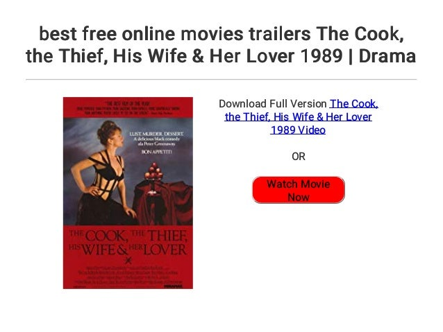 Best Free Online Movies Trailers The Cook The Thief His Wife