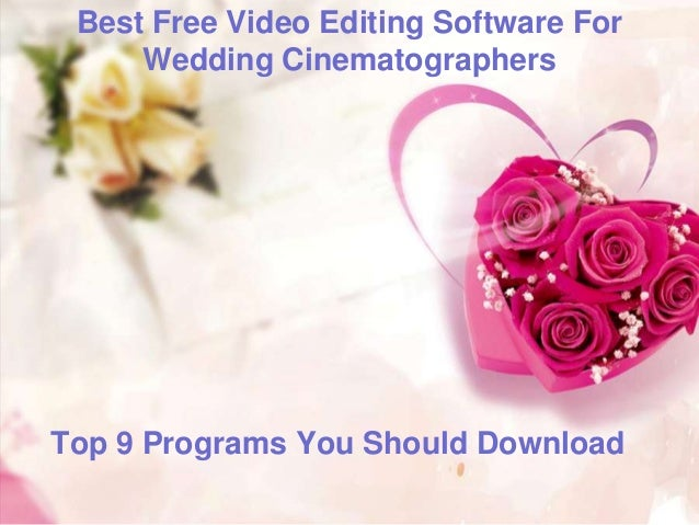 wedding cd mixing software free