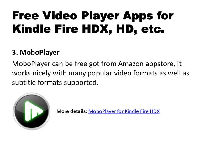 Best free video player apps for kindle fire hdx review & download