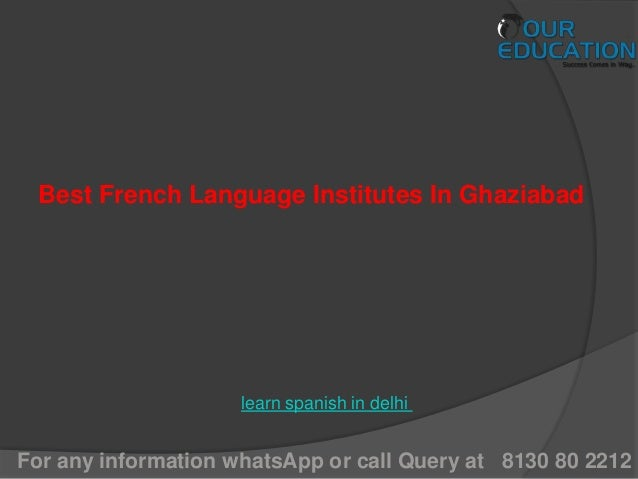 French Classes Noida, French Courses Noida, French ...