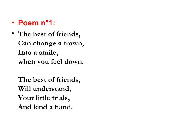 Best Friends Poems 6