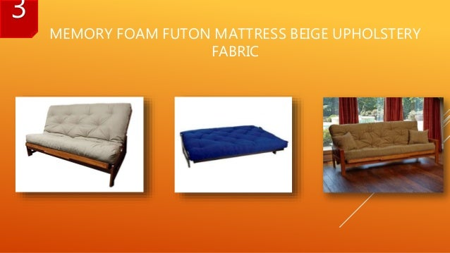 memory foam futon mattress beige upholstery fabric 3  6  best futon mattress reviews 2017  rh   slideshare