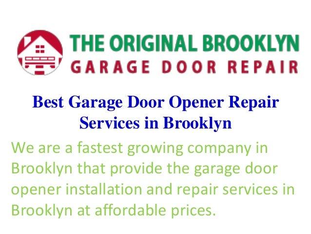 Best Garage Door Opener Repair Services In Brooklyn