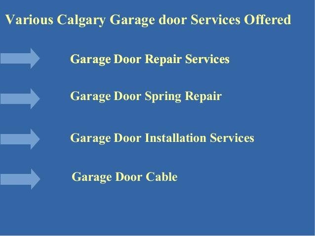 Garage Door Repair Companies In Calgary