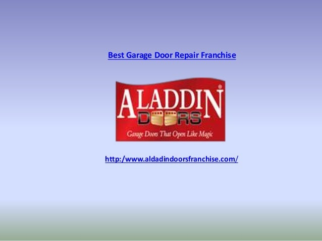 Best garage door repair franchise for Franchise ad garage