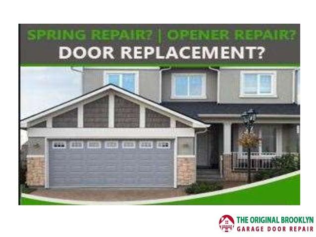 Exceptionnel Garage Door Repair Brooklyn; 3.