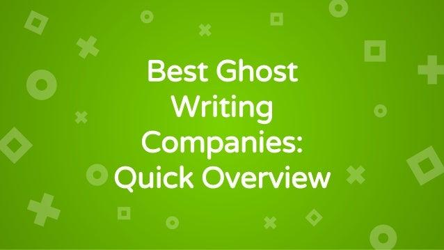 best ghost writer