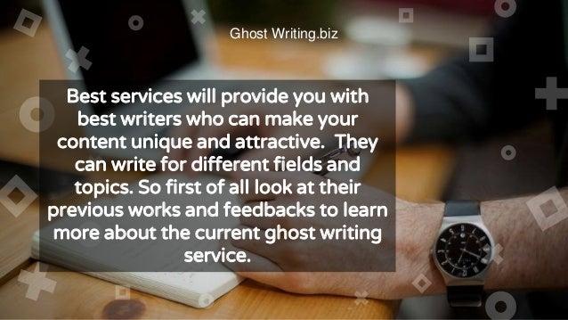 ghostwriting companies