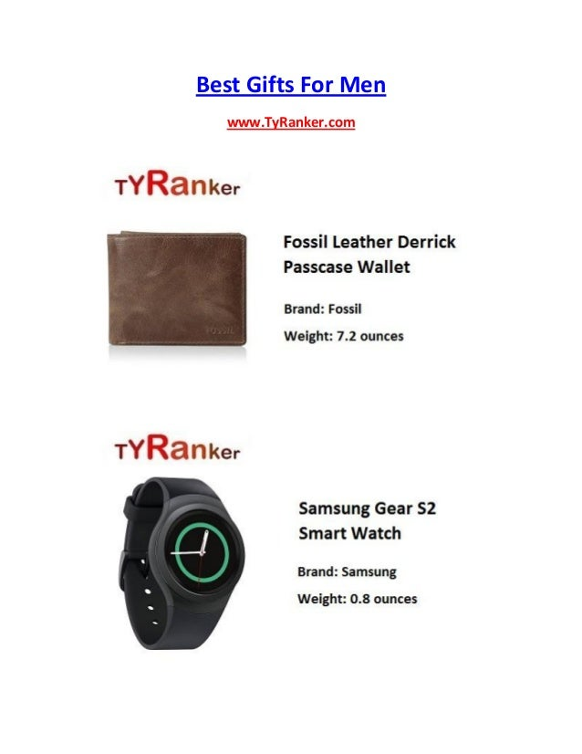 Best Gifts For Men www.TyRanker.com
