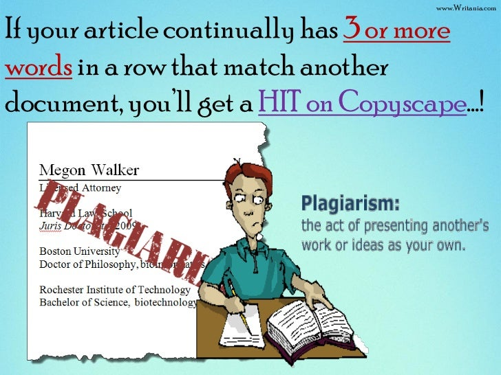 How to re write articles to pass copyscape