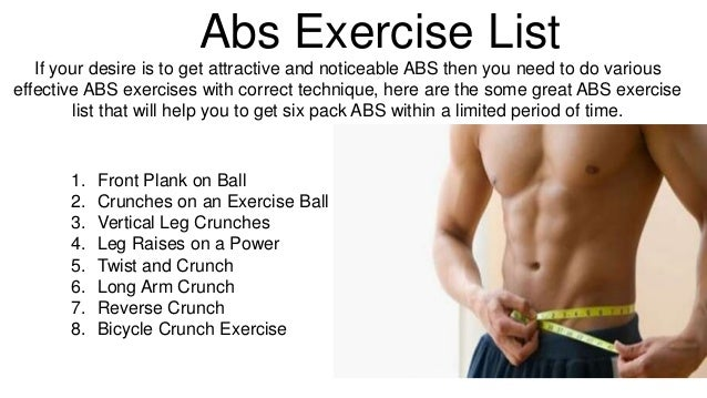 Best Gym Workout Plans And Exercise For Abs 2
