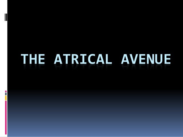 THE ATRICAL AVENUE