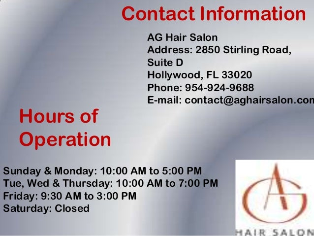Best Hair Salon In Hollywood Florida
