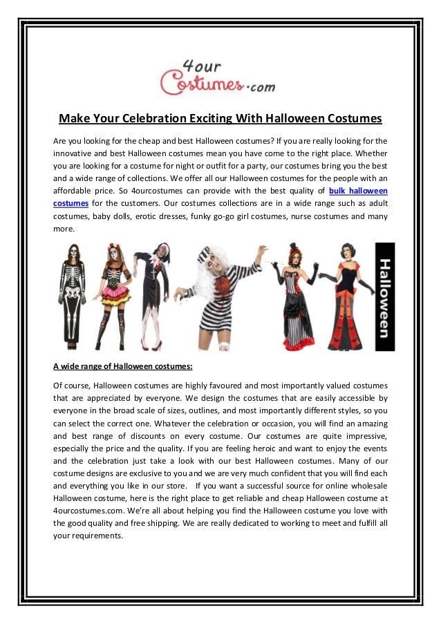 Best Halloween Costumes Buy Online